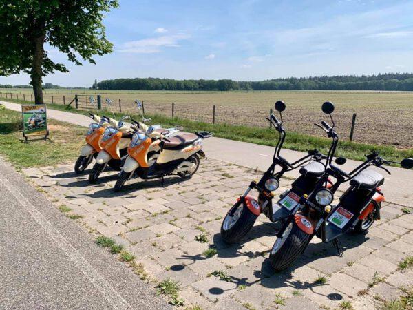 Scooters huren montferland gelderland